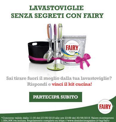 desideri magazine - concorso Fairy kit cucina