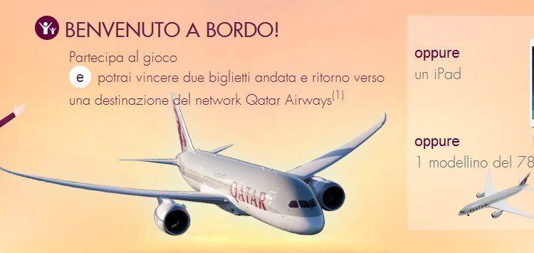 Scopri il 787 di Qatar Airways e Vinci