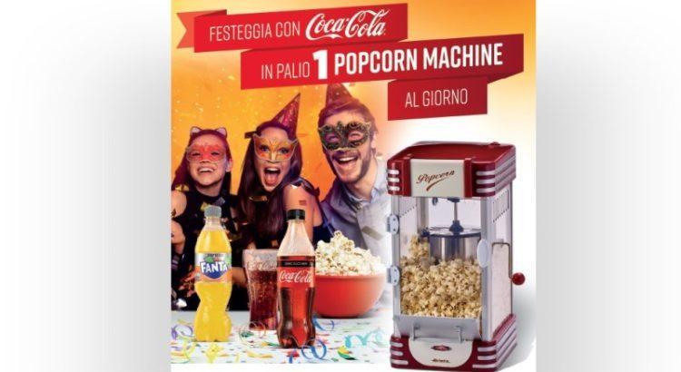 Concorso Coca Cola: vinci macchina per pop corn Ariete