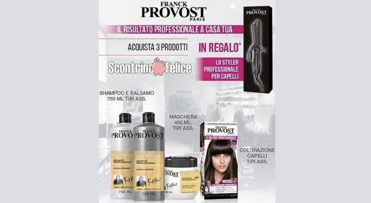 Franck Provost styler professionale premio certo