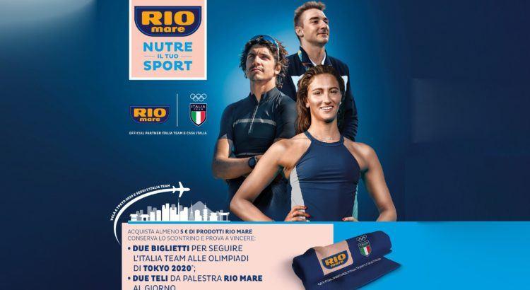 Concorso Rio Mare vinci Olimpiadi di Tokyo 2020 o teli palestra