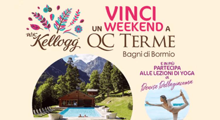 Concorso W.K.Kellogg vinci weekend relax a QC Terme Bagni di Bormio