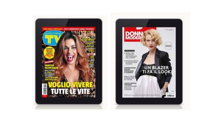 Donna Moderna e Tv Sorrisi e Canzoni in versione digitale gratis per 3 mesi