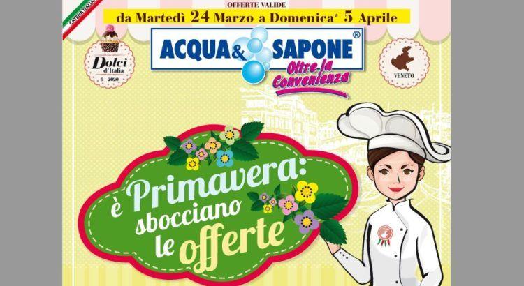omaggi con acquisto da Acqua e Sapone volantino dal 24-03-2020 al 05-04-2020
