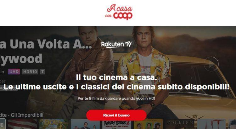 Codici Rakuten TV gratis per vedere 8 film