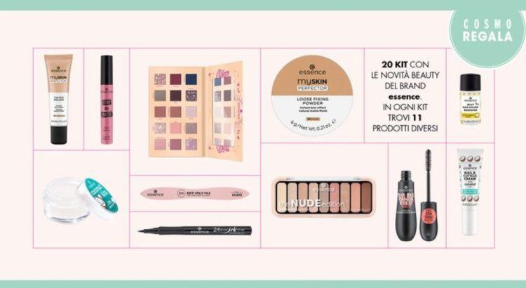 Concorso Cosmopolitan Vinci 20 kit makeup essence