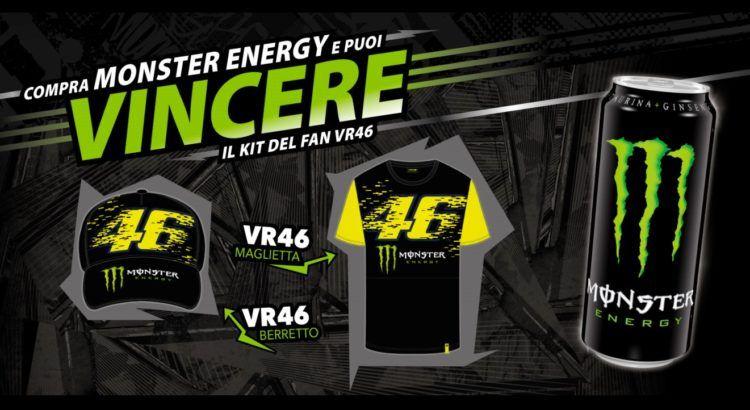 Concorso Monster Energy Pam Panorama vinci il kit del fan VR46