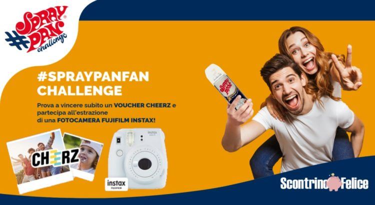 Concorso SprayPanFan Challenge - vinci Cheerz e Fujifilm Instax