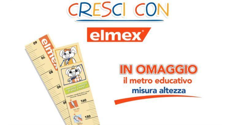 Elmex Bimbi Elmex Junior in omaggio metro misura altezza