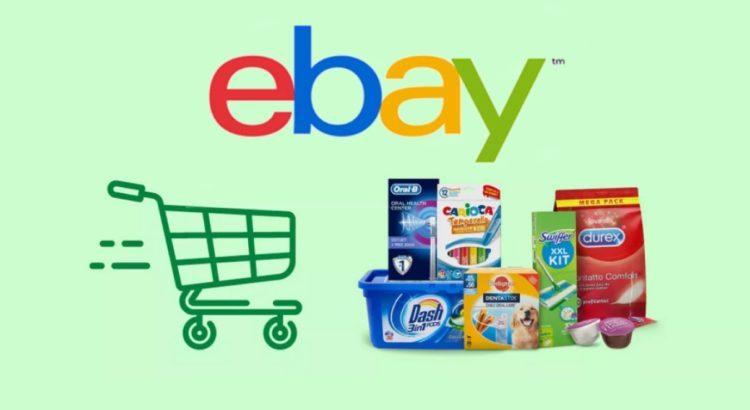 Spesa a casa con eBay codice sconto 10% e risparmia
