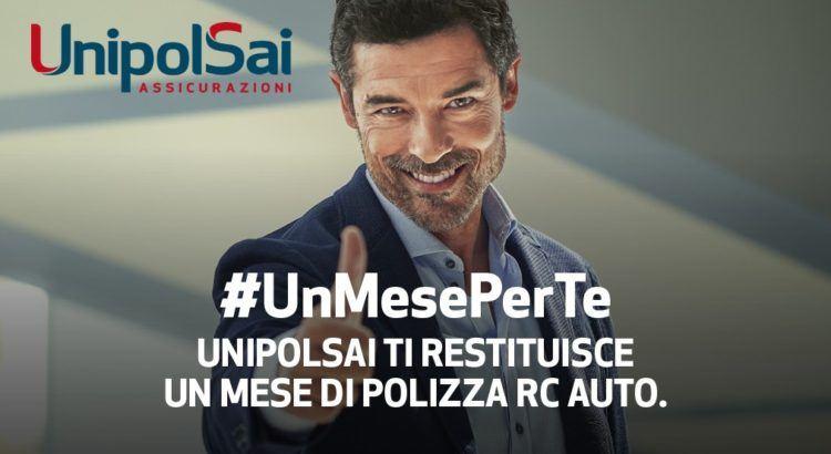 UnipolSai UnMesePerTe rimborso di 1 mese di rata Rc Auto