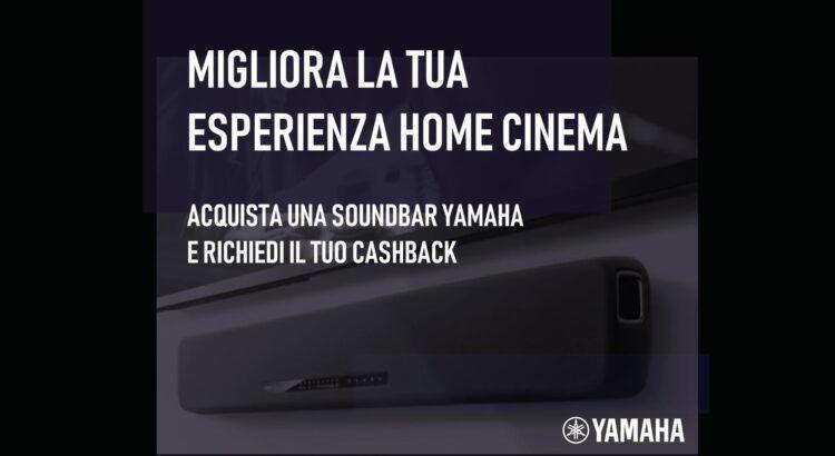 Yamaha CashBack Soundbar Rimborso