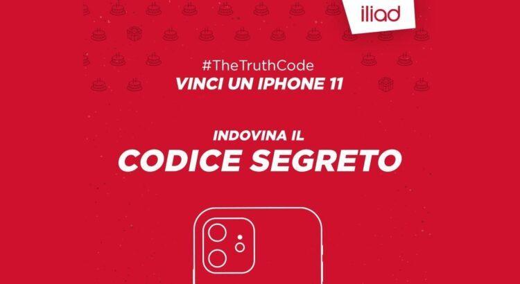 Concorso Iliad vinci iPhone 11