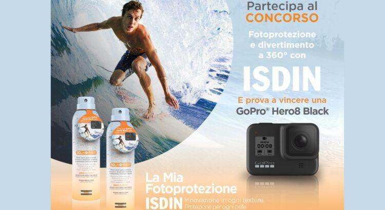 Concorso ISDIN fotoprotettore vinci GoPro Hero 8 Black