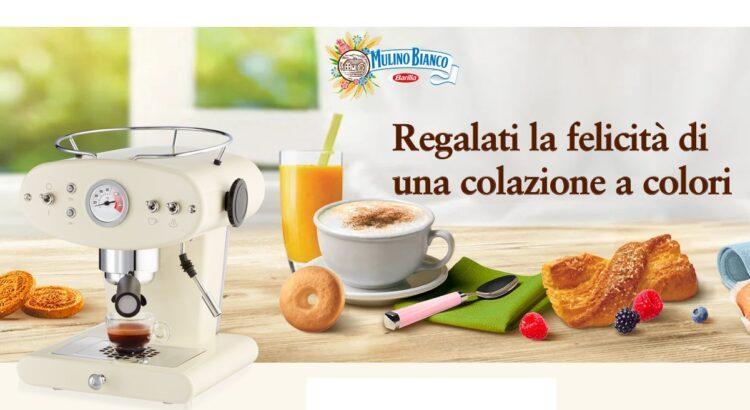 Concorso Mulino Bianco Colazione a Colori vinci Macchine da caffè Espresso Illy