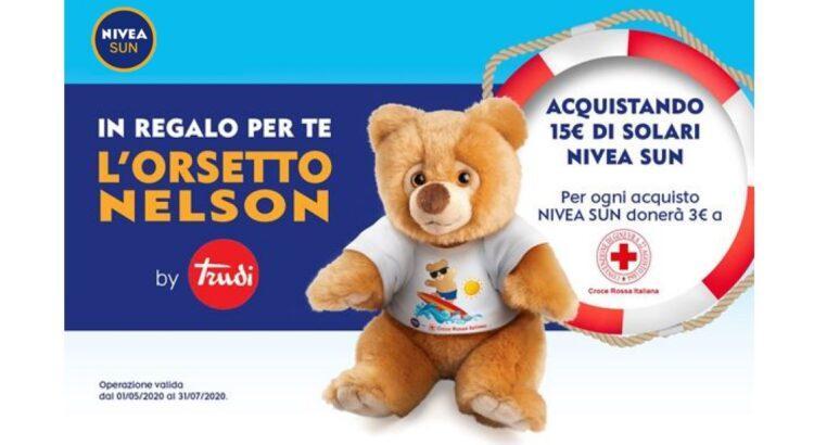 Concorso Nivea Sun orsetto Trudi Nelson premio sicuro