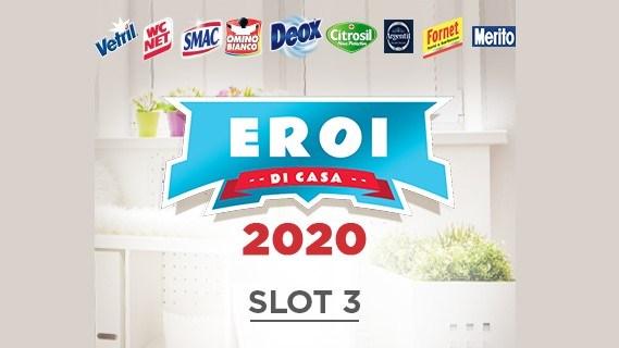 Eroi di casa 2020 Slot 3 da Bennet Alì e Aliper vinci carte regalo da 50 euro