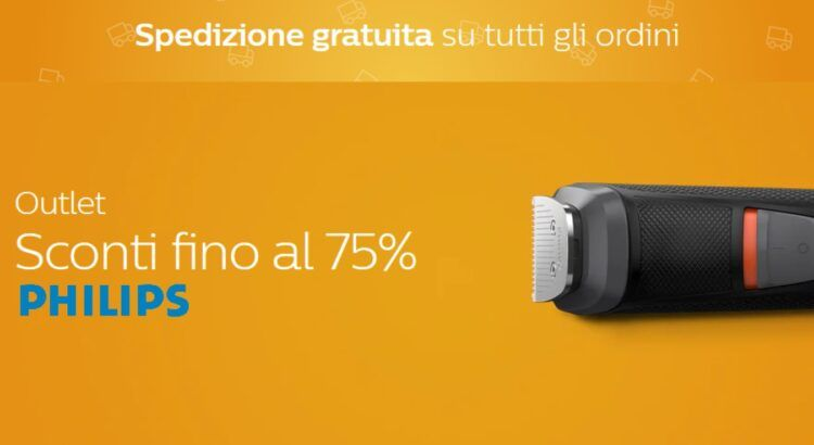 Outlet online Codici Sconto Philips