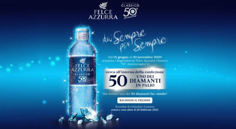 Concorso Felce Azzurra Da sempre Per sempre trova e vinci 50 diamanti!