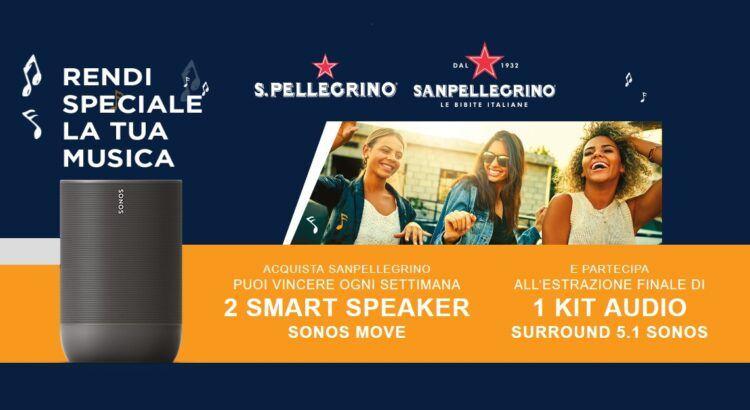 concorso a premi San Pellegrino Rendi speciale la tua musica