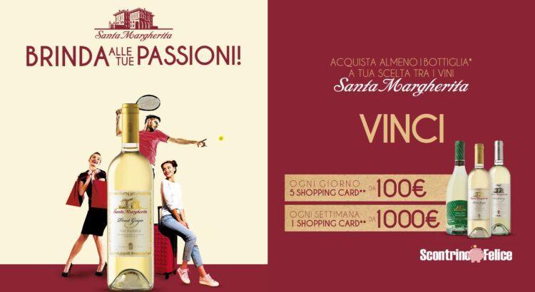 Concorso Santa Margherita Brinda alle tue passioni