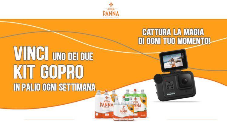 Concorso Acqua Panna vinci GoPro Hero 8 Black Hard Bundle