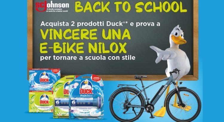 Concorso Duck vinci e-bike NILOX X7