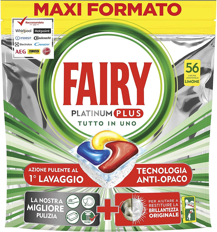 www.scontrinofelice.it fairy platinum plus pastiglie per lavastoviglie amazon Otteni 4 euro di sconto su Amazon per lacquisto di Fairy Platinum Plus!