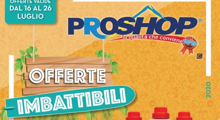 Volantino Proshop valido dal 16-07 al 26-07 2020
