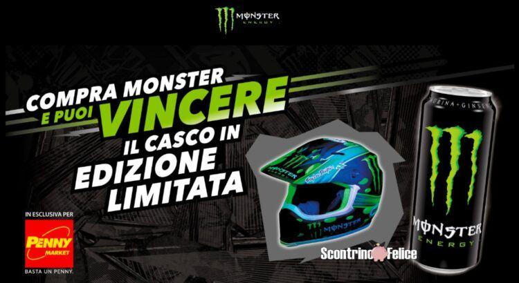 Concorso Monster Energy da Penny Market vinci casco in edizione limitata