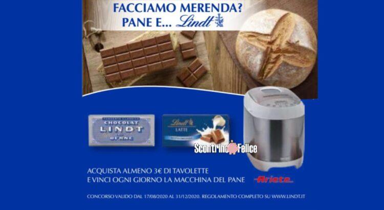 Concorso Pane e Lindt vinci macchina del pane Ariete panExpress