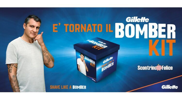 Gillette Shave like a bomber vinci il Bomber Kit