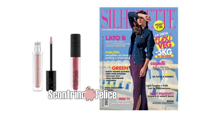 Silhouette Pocket 9 rossetto Lipgloss Catrice