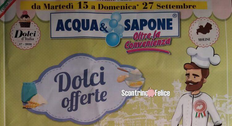 Concorsi Nuovo Volantino Acqua e Sapone dal 15-09 al 27-09 2020