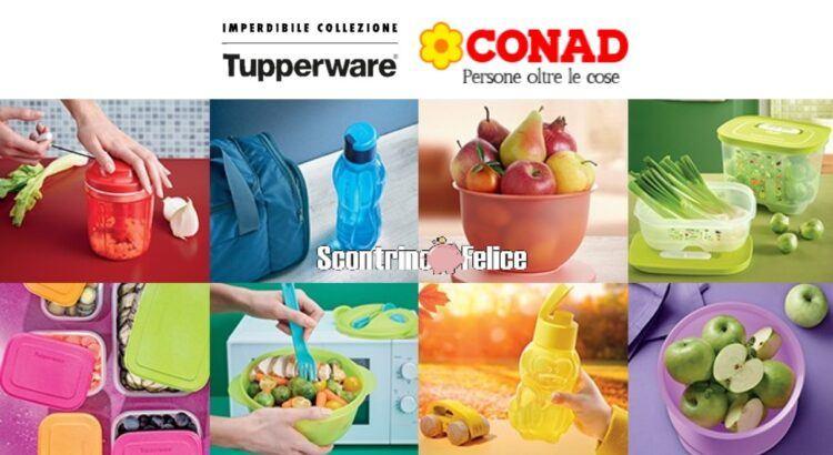 Raccolta Collezione Tupperware Conad 2020
