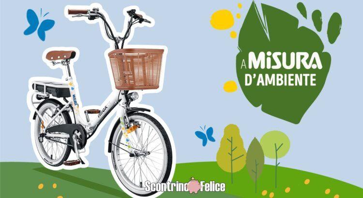 Concorso A Misura d Ambiente vinci bici elettrica pieghevole Misura by Nilox