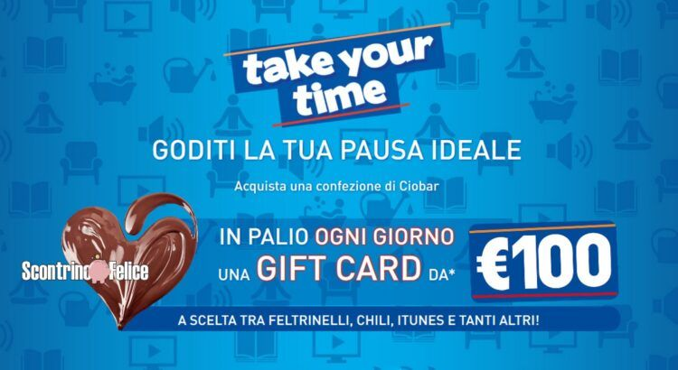 concorso Ciobar take your time