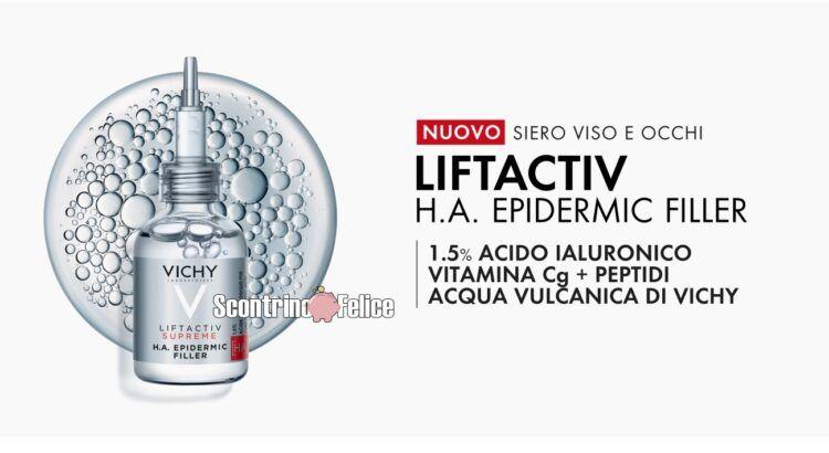Diventa tester del nuovo Vichy Liftactiv H.A. Epidermic Filler