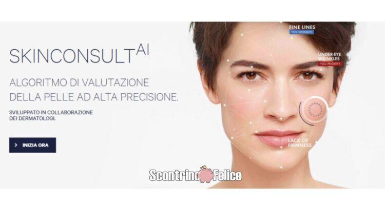 Vichy SkinConsult AI richiedi il campione omaggio adatto alla tua pelle