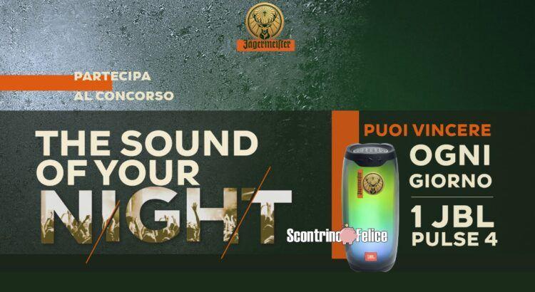 Concorso Amaro Jägermeister The Sound Of Your Night vinci 61 Speaker Jbl Pulse 4