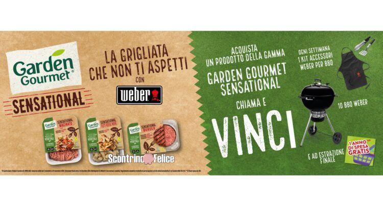 Concorso Garden Gourmet Sensational Una grigliata che non ti aspetti con Weber