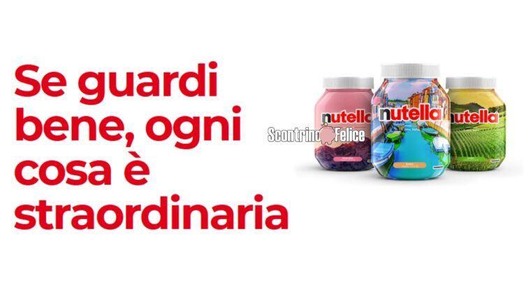 Concorso gratuito Nutella Ti Amo Italia in palio 200 lezioni di cucina in streaming