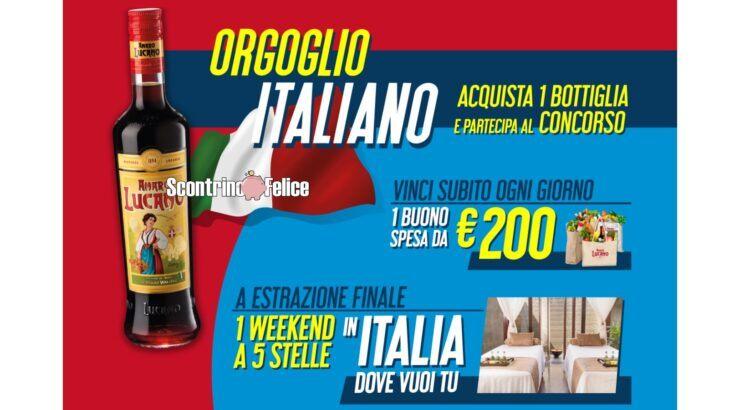 Concorso Amaro Lucano ORGOGLIO ITALIANO
