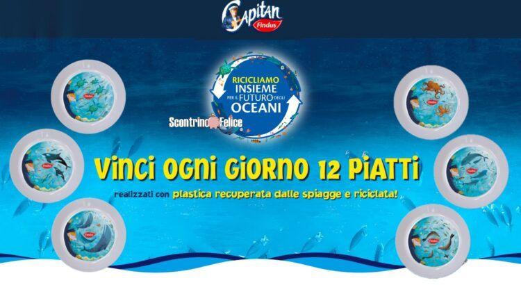 Concorso Capitan Findus Ricicliamo Insieme per il futuro degli oceani
