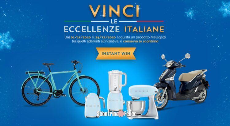 Concorso Melegatti - Vinci le Eccellenze Italiane