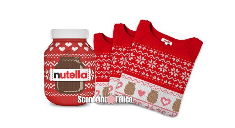 Concorso Nutella maglioncino di Natale 2020