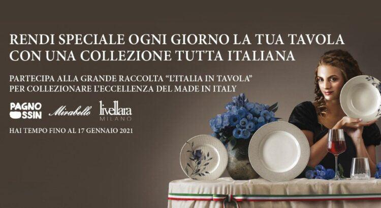 Raccolta punti l Italia in tavola