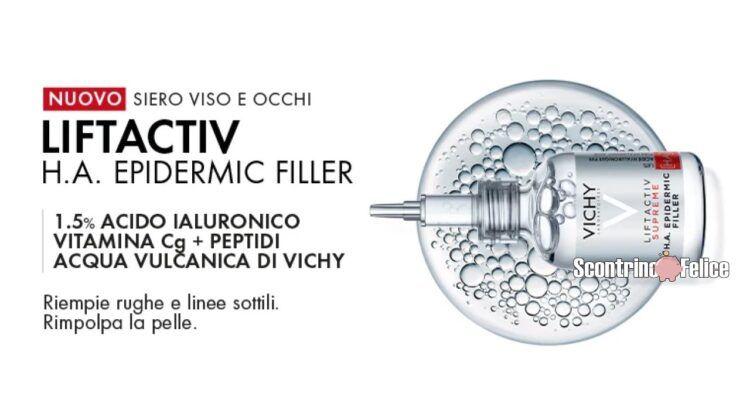 campione omaggio Liftactiv Supreme H.A. Epidermic Filler Vichy