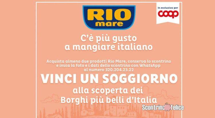 """Concorso Rio Mare """"C'è più gusto a mangiare italiano"""" da Coop e Ipercoop"""
