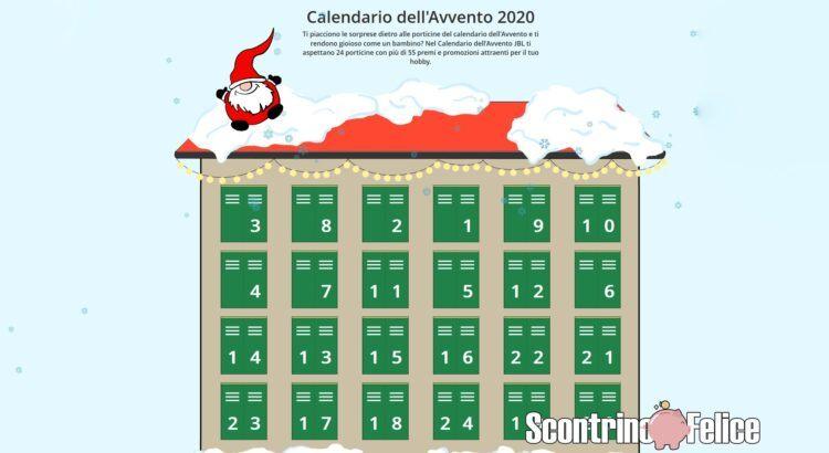 Calendario dell'Avvento JBL 2020
